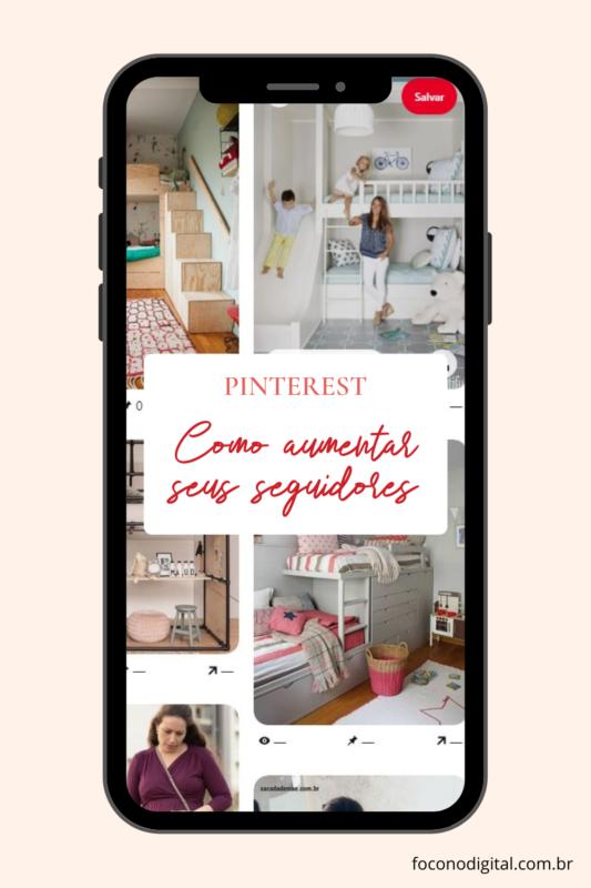 Como aumentar seus seguidores no Pinterest