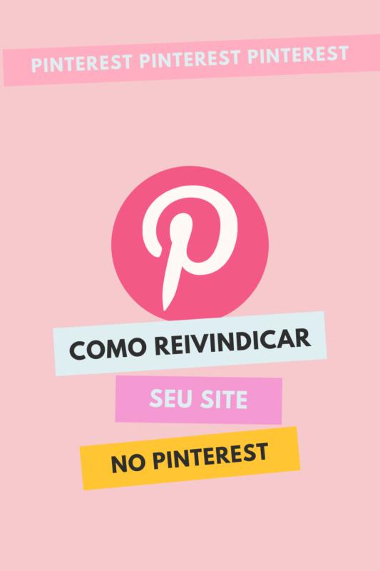 Como reivindicar seu site no Pinterest